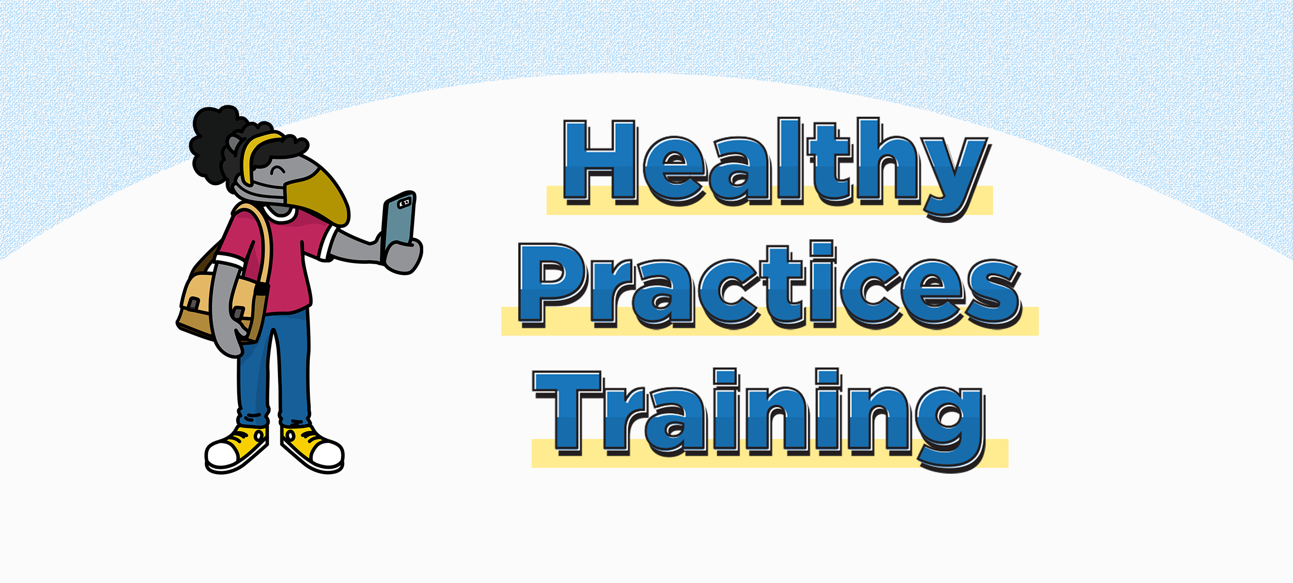 Healthy practices training graphic