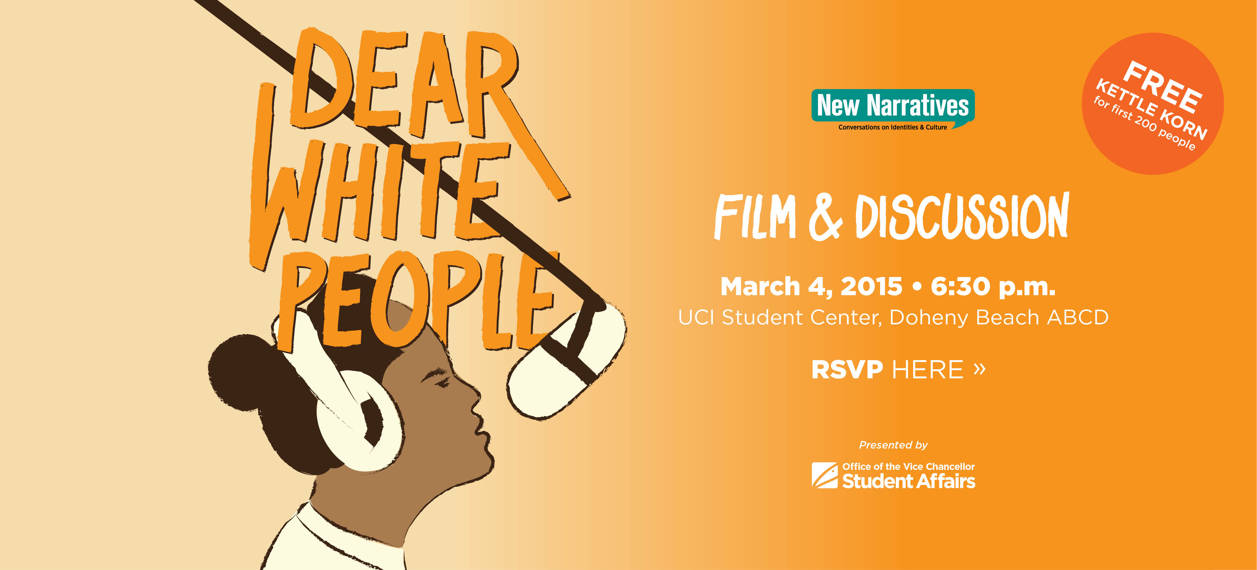 Join us for an exclusive screening of Dear White People with the film's producer, Lena Waithe.