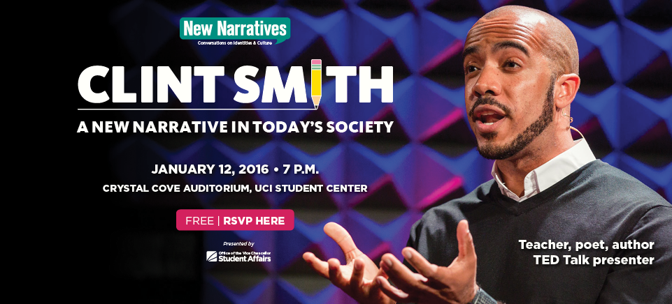 RSVP for New Narratives presents Clint Smith: A New Narrative in Today's Society