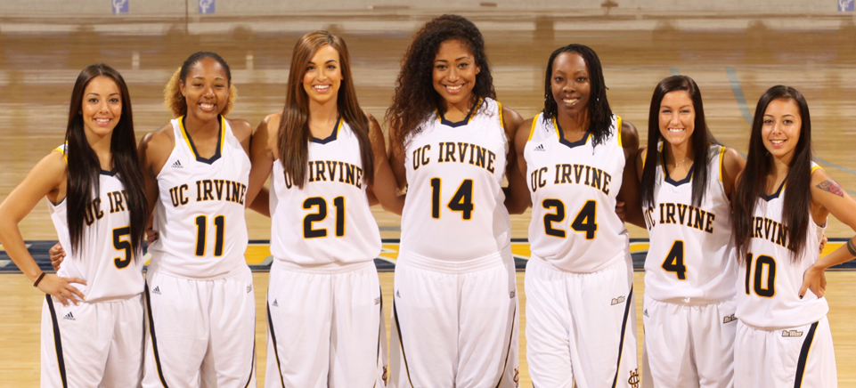 UCI women's basketball 2014 seniors