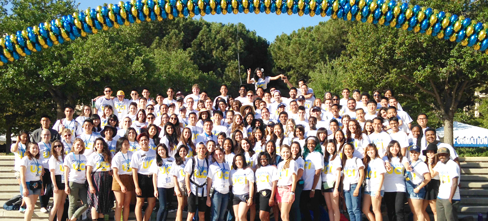 Campus Representatives at Celebrate UCI