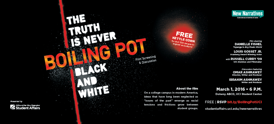 New Narratives - Boiling Pot film screening and discussion