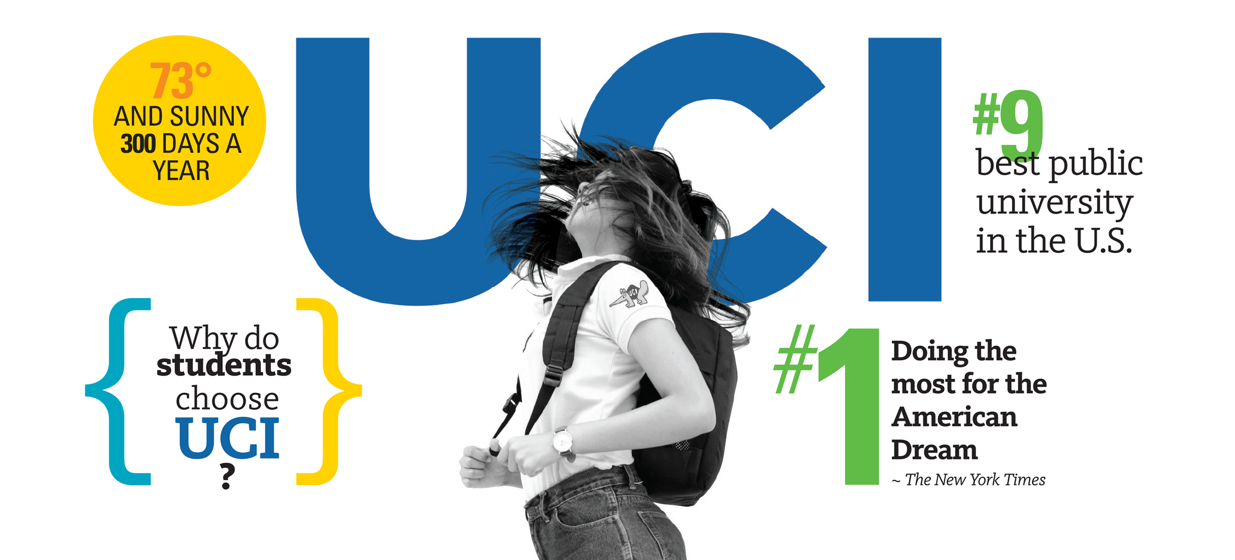 Discover what makes UCI a unique destination for your undergraduate experience