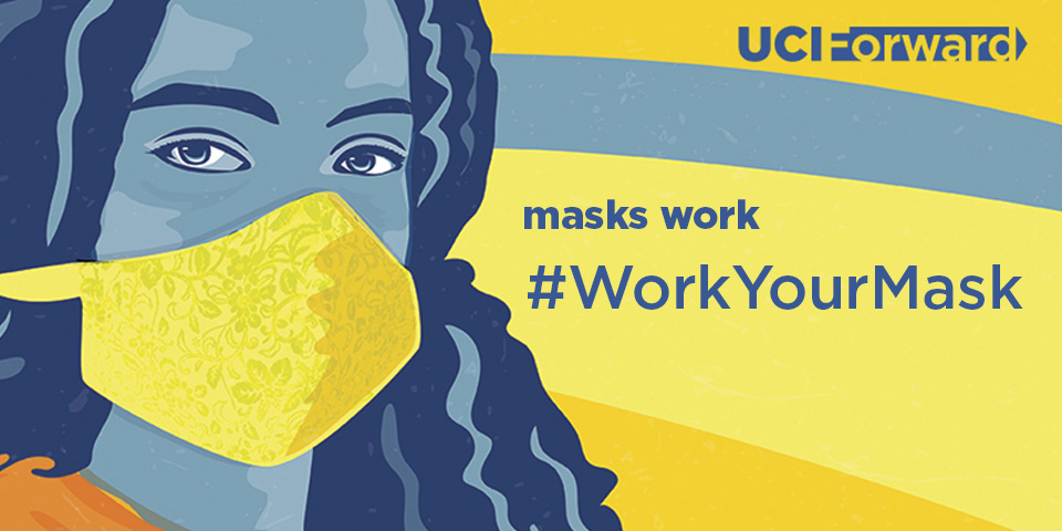 #workyourmask graphic