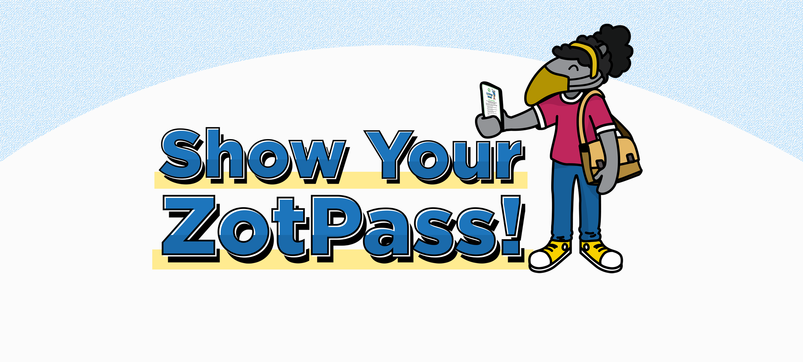 Show your ZotPass! image